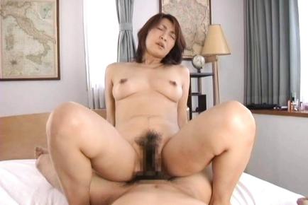 Kyoko Japanese mature doll enjoys sex