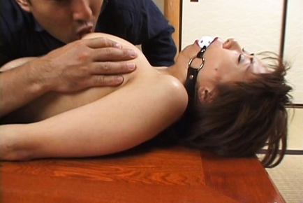 Maria Yuki Asian mature chick enjoys sucking cock