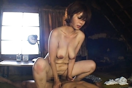 Chisato Shouda Lovely mature Asian chick has hot sex