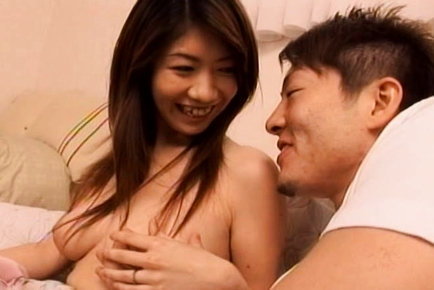 Amazing Japanese mature woman gets doggy style sex