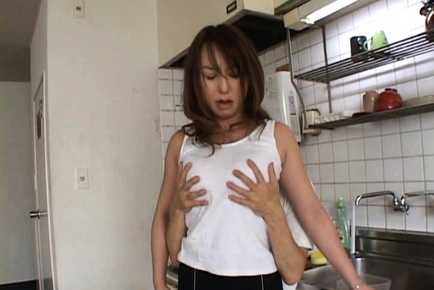 Mature Japanese lady is amazing for sex