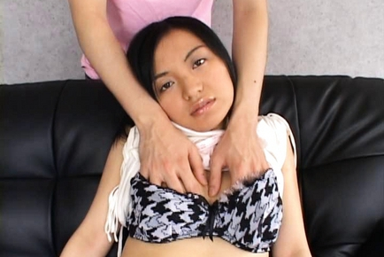 Mature Japanese chick is sexy and milky