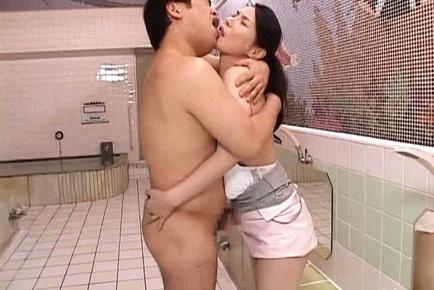 Juri Yamaguchi Asian Model Enjoys Cock
