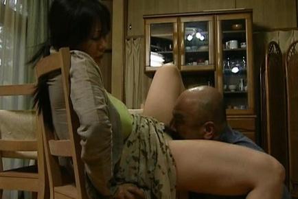 Japanese MILF has crazy sex
