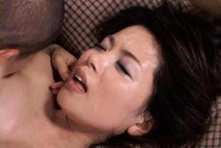 Miki Sato Beautiful Japanese MILF enjoys hot sex action