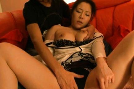 Ayane Asakura Kinky Asian mature gal
