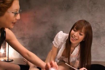 Shelly Fujii and Yuu Kawakami Kinky Asian babes