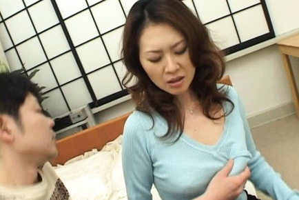 Mina Toujou Horny housewife enjoys sex