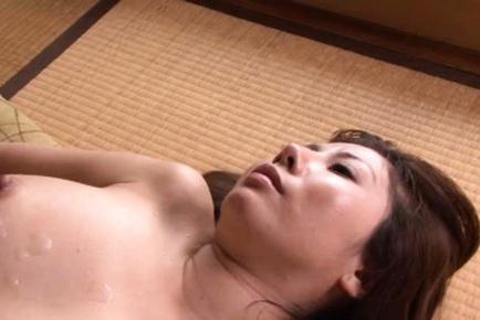 Sakiko Mihara Asian babe has mature sex