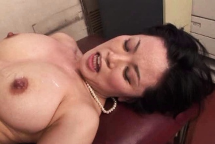 Busty Mature Miki Sato Makes Two Guys Very Happy