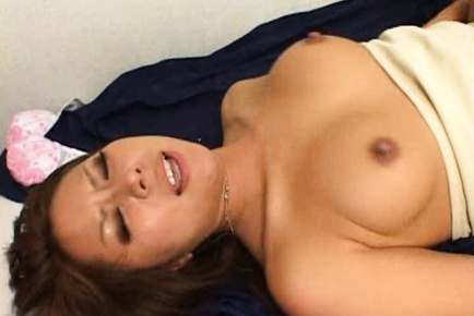 Japanese wife is a busty mature gal