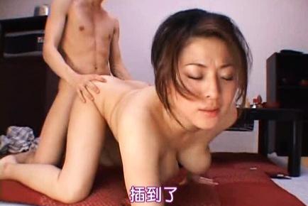 Busty  Reiko Yamaguchi Gets Fucked Doggy Style