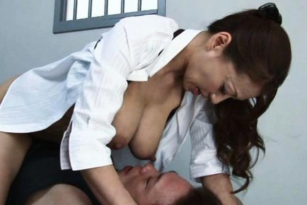 Kinky Asian Sanae Asou is into female domination