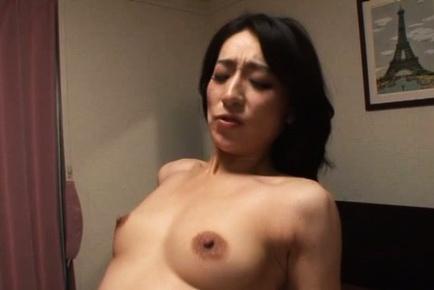 Seductive Marina Matsumoto enjoys facesitting and blowjob