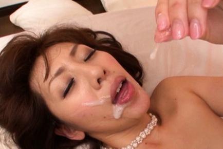 Busty asian hottie in amazing hardcore action