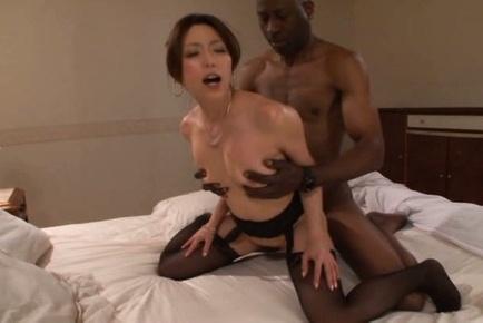 Mature japanese interracial