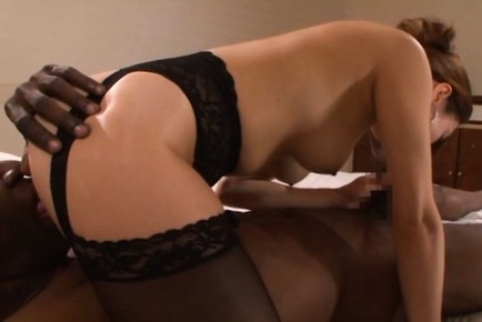 Afternoon hot couple fucking in session Black