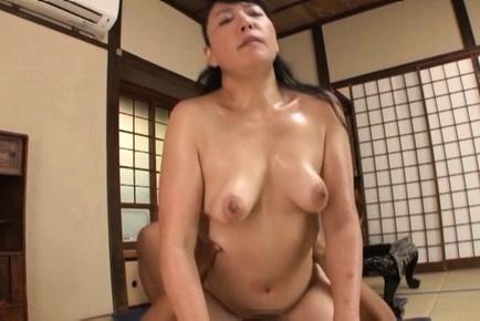 Chubby Japanese milf Koitoka gets immense pleasure of fucking