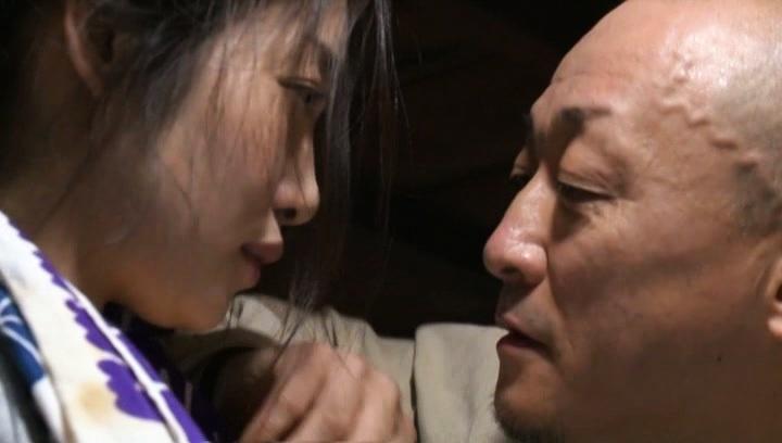 Hot Japanese mature woman enjoys doggystyle pussy pounding