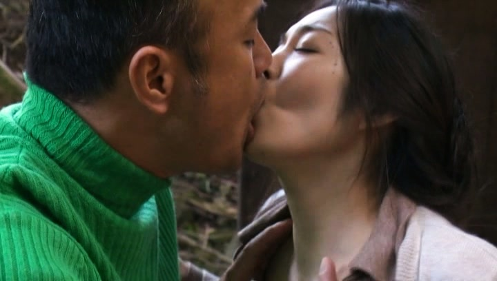 Horny Japanese mature lady meets a handsome guy and gets banged
