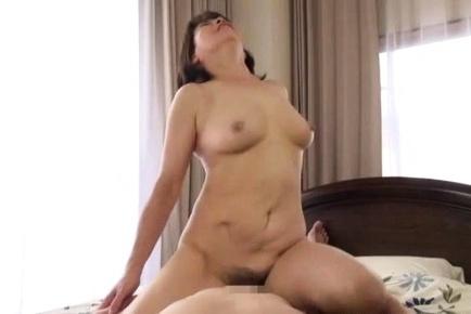 Rie Takahashi mature Japanese wife gets hardcore fuck